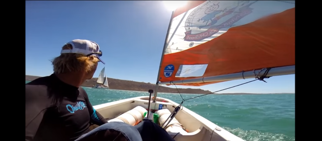 The Little Optimist Adventures : High Winds With Greg Bertish
