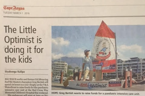 The Little Optimist In the Papers!