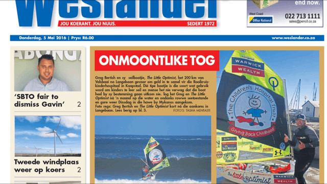 Westlander Newspaper | The Little Optimist Is Jultemal Tweetaalig
