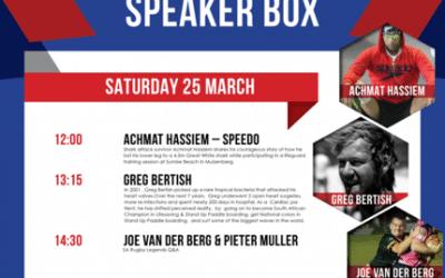 Argus Sports Show | Speaker | Greg Bertish