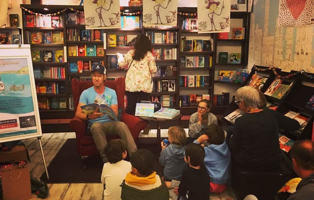 The Little Optimist | Cape Town Book Reading