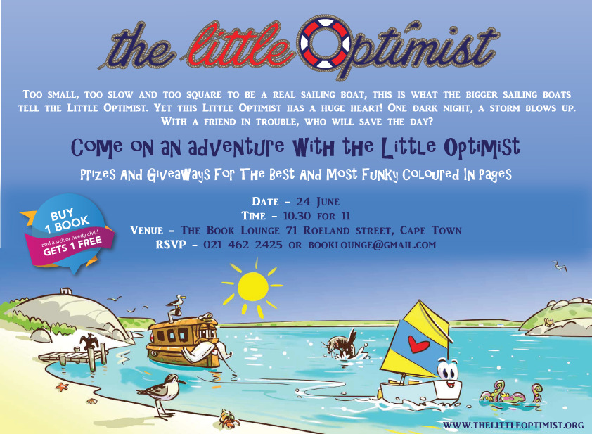 The Little Optimist Book Reading | Cape Town