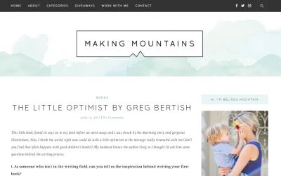 Making Mountains | Greg Bertish & The Little Optimist