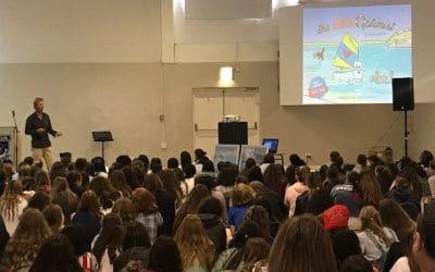 The Little Optimist Inspires Herzlia Middle School