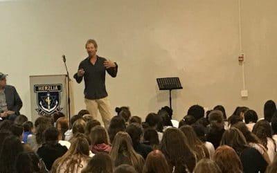 Herzlia Middle School Talk | Thank You