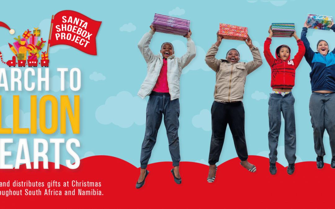 The Little Optimist Trust Partners With Santa Shoebox!