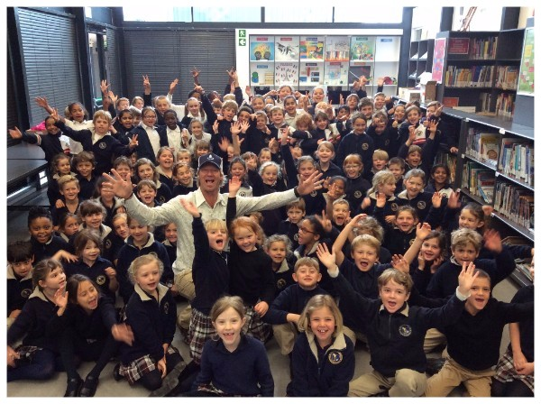 """A visit from the remarkable author of ""The Little Optimist""! – Hout Bay International School"