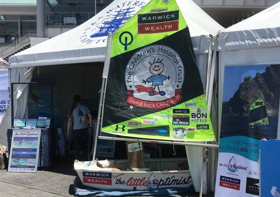 A video of the Little Optimist @ the Volvo Ocean Race