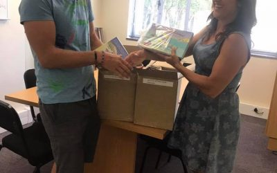 Children's Hospital Trust accepts 220 Extra books 18/12/17