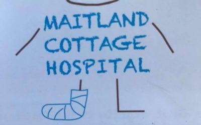 Merry Christmas Kids!! The Little Optimist at Maitland Cottage Children's Orthopedic Hospital 15/12/17