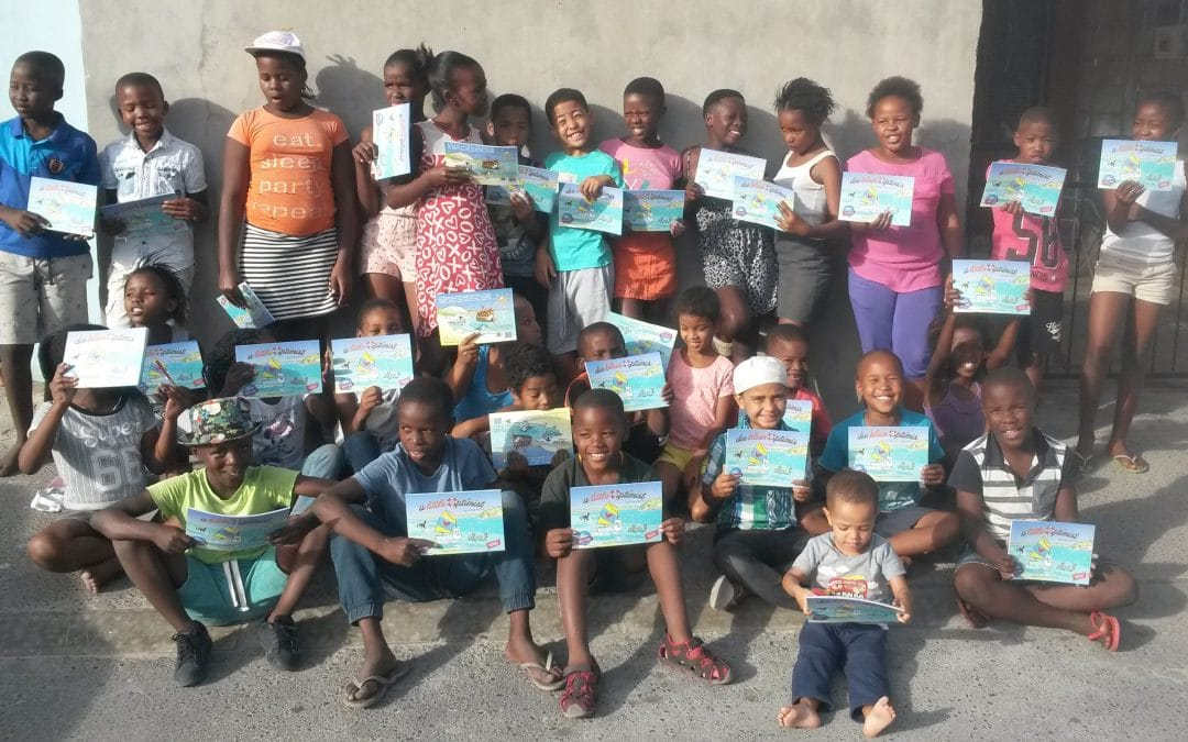 Amazing! Little Optimist Trust & Kairos Outreach Development donate 50 books to children in need!