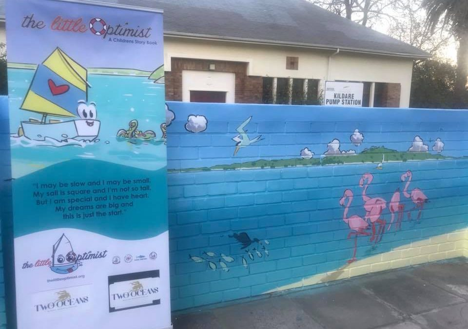 THE RELEASE OF THE NEW THE LITTLE OPTIMIST WALL AT THE MAITLAND COTTAGE CHILDREN'S HOSPITAL 21/05/2018