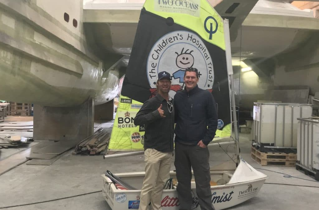 Two Oceans Marine Manufacturing Supports 'The Little Optimist'