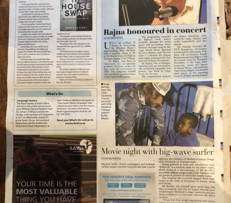 Tatler Newspaper   Movie Night Success
